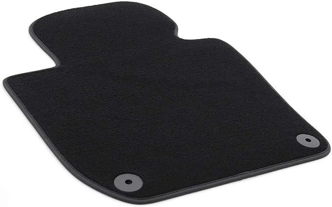 Fußmatte Passend Für Superb 2 Ii 3t Premium Qualität Velours Automatte Fahrerseite Schwarz Auto