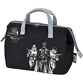 Skater cold purse type lunch bag two-stage lunch for L Star Wars KGA2