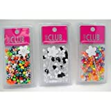 Hair Beads, Heart 48 pcs sku# 893838MA