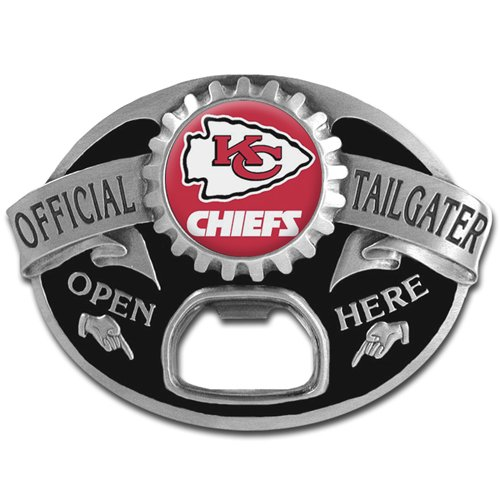 NFL Kansas City Chiefs Tailgater Buckle
