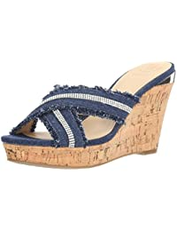 Guess Women's Evalea Wedge Sandal