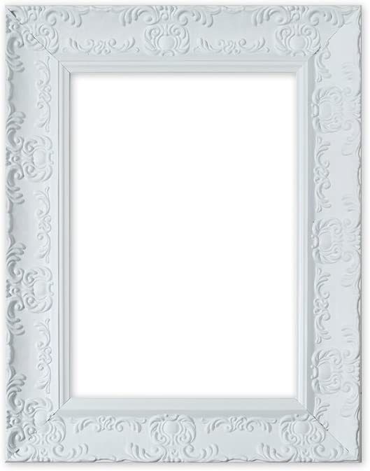 Picture Frame Fame Wood BAROQUE OPULENCE Shabby Antique Photo Poster Painting Frame 53mm