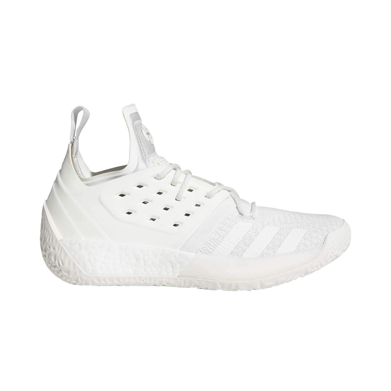 Grey-Cloud White adidas Harden Vol. 2 shoes Men's Basketball