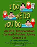 I Do We Do You Do Math Problem Solving Grades 1-5 Perfect, Sherri Dobbs Santos, 1257918117