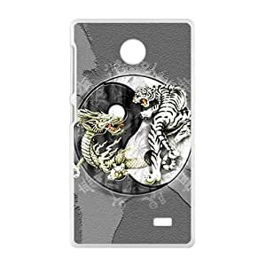 Tiger and lion deadly struggle Cell Phone Case for Nokia Lumia X