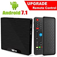 Android 7.1 Smart TV Box - Viden W95 2018 New Generation Android TV Box with Amlogic S905W 64Bits Quad-Core, 1GB+8GB, Wi-Fi, HDMI, USB2, 4K UHD Web TV Box + Mini Wireless Keyboard with Air Remote
