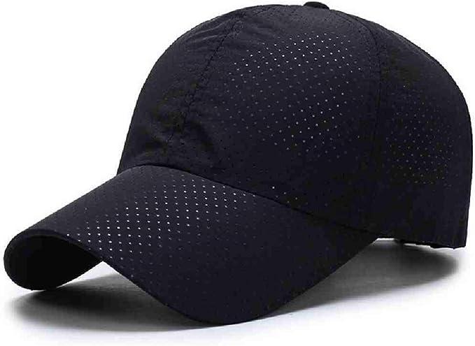 ZIJS Verano para hombre de malla transpirable sombreros gorras ...