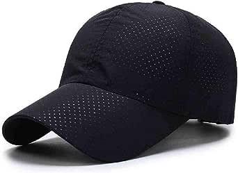 ZIJS Verano para hombre de malla transpirable sombreros gorras de ...