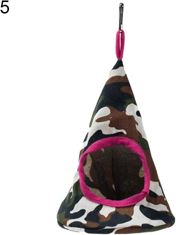 Heaven2017 Soft Comfortable Warm Multi-Color Bed Cave Cage Collapsible Pets Cat Kitten Cone Hammock Hanging