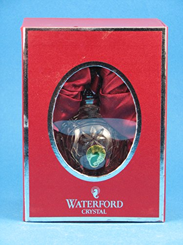 Waterford Annual Ornament Crystal (Waterford Crystal 2012 Lismore Annual Ball Ornament)