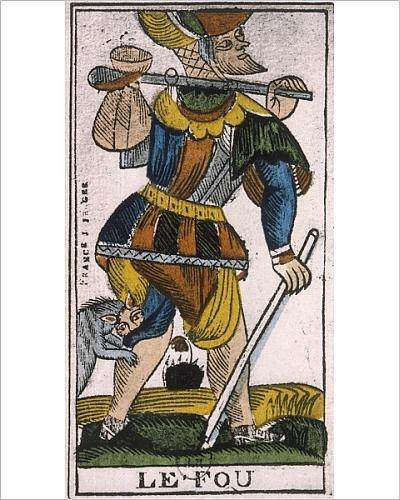 fool tarot poster