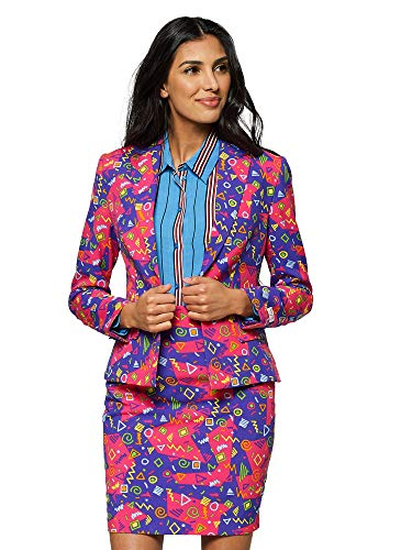 c4b846fce625 OppoSuits Crazy Suits with Funny Prints for Women- Full Set  Jacket and  Skirt