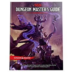 Weave legendary stories in the world's greatest roleplaying game.   All you need to run a Dungeons & Dragons game is your imagination, some dice, and this book. The Dungeon Master's Guide teaches you how to how to run D&D adventures ...