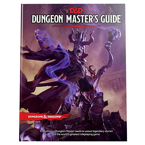 Book cover from Dungeons & Dragons Dungeon Masters Guide (Core Rulebook, D&D Roleplaying Game) by Wizards RPG Team