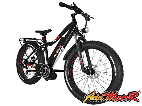 Addmotor MOTAN 1000W Electric Bicycles 17 5AH 30MPH Electric