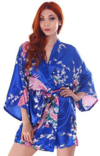 Simplicity Womens Peacock Blossom Kimono