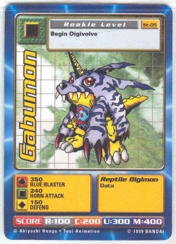 - Digimon Card - Gabumon St-05 - 1st Edition