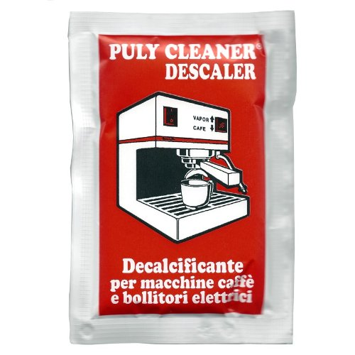 Puly Cleaner Descaler Box of 10 Packets by Puly Caff 8000733003103