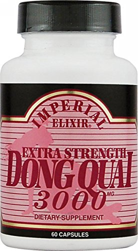 Imperial Elixir Dong Quai Extra Strength -- 3000 mg - 60 Capsules ()