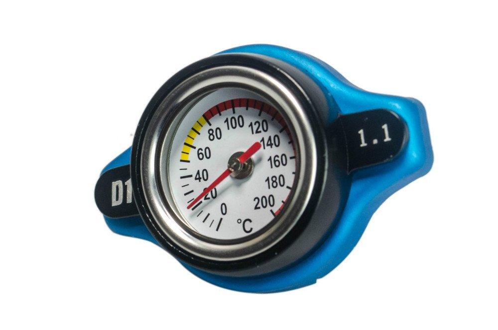 Aeroline D1 K/ühlerkappe mit integriertem Thermostat passend f/ür japanische Autos /& Motorr/äder 1,1/Bar