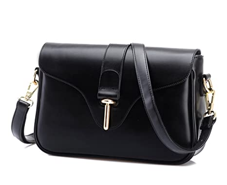 Image Unavailable. Image not available for. Color  Eyedow eKingdom Outdoor  Small Square Bag PU Leather Handbags Crossbody Shoulder Pretty Girls ... 98580210a1f1b