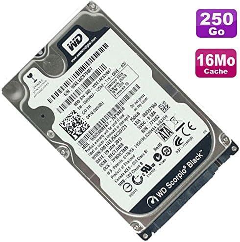 Festplatte 250GB sata 2.5 WD WD2500BEKT-75PVMT0 schwarz scorpio 16Mo 7200RMP