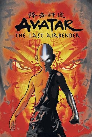 Avatar The Last Airbender Animated Television Series 24x36 Poster Print