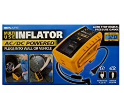 Bonaire Inflator Multi Use for Tires Sports Equipment Air Mattresses