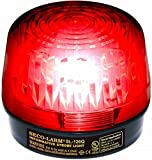 SECO-LARM SL-126Q/R Red Security Strobe Light