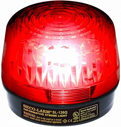 SECO-LARM SL-126Q/R Red Security Strobe Light Review