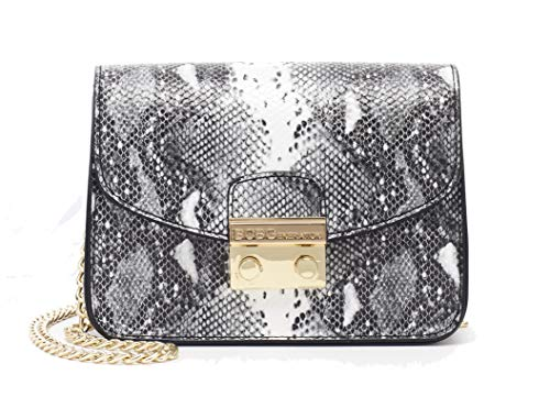 (BCBGeneration Milly Small Crossbody Handbag for Women - Evening Bag, Purse with Chain Strap by BCBG)