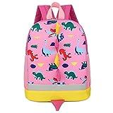 Kids Toddlers Dinosaur Backpack Baby Backpack Kindergarten Backpack Toddler Kids Backpack Girls Boys Backpack Schoolbag Pink