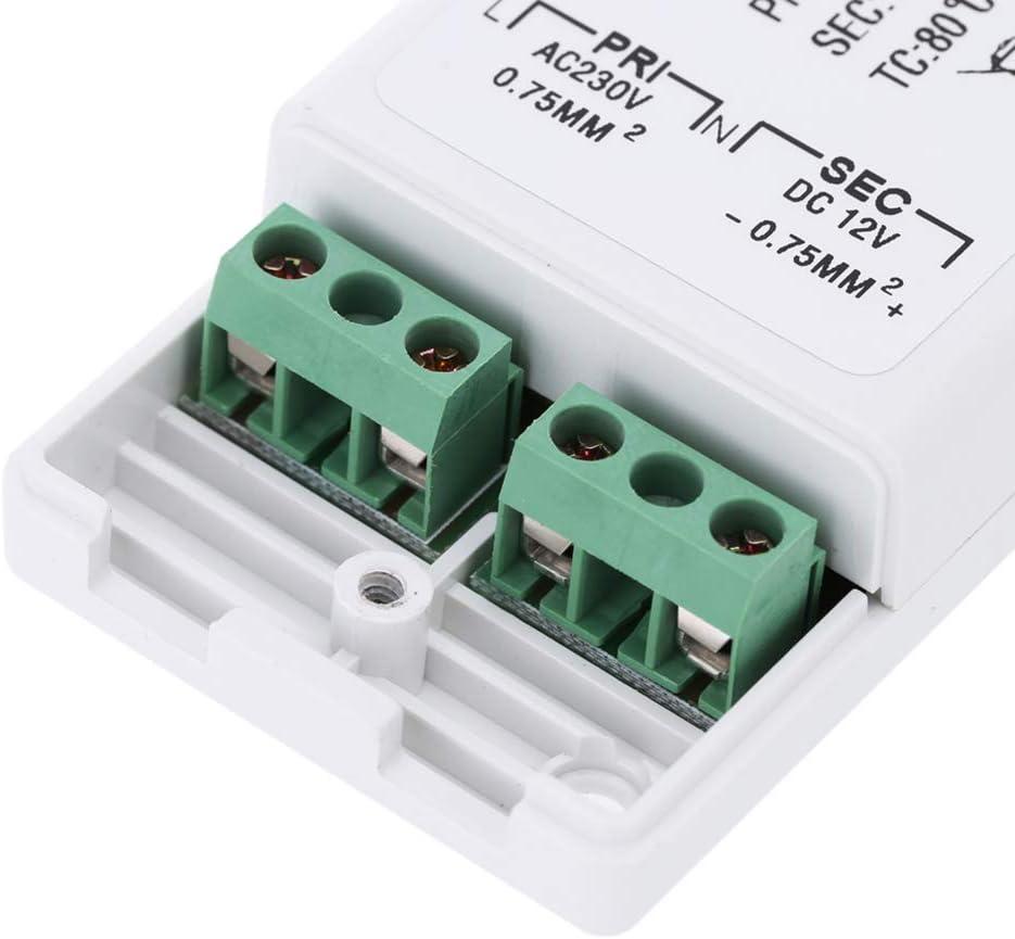 60Hz /à 12V DC Adaptateur convertisseur MR11 Transformateur 240V 50 Laileya 18W LED Driver Bande de Remplacement transformateur MR16 LED LED pour MR16