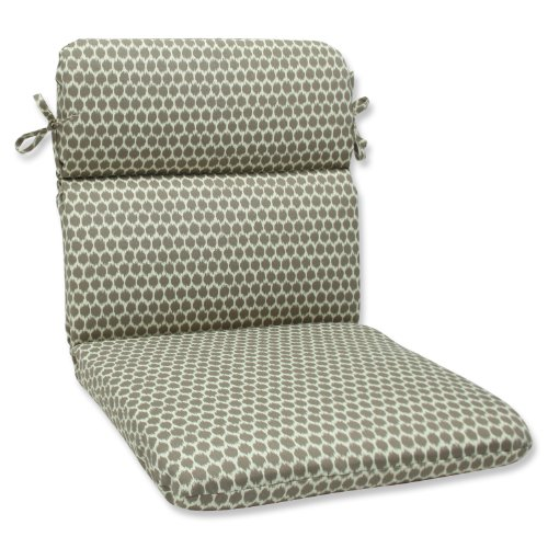 Pillow Perfect Outdoor Seeing Spots Sterling Rounded Corners Chair Cushion