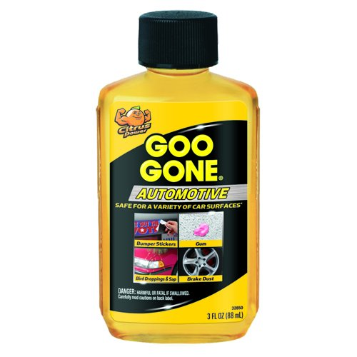 Goo Gone Adhesive Residue Cuts Grease, Oil, Gum & More (Citrus Scented) 3oz Bottle