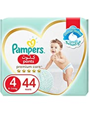 Pampers Premium Care Pants Diapers, Size 4, Maxi, 9-14 kg