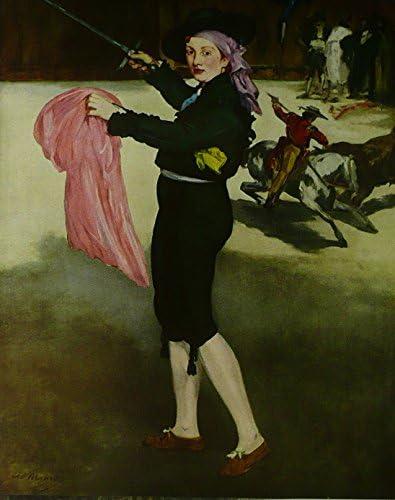 Mlle Victorine In The Disfraz de una Espada - Maneta - Cuadro ...