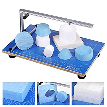 TOPCHANCES Electric Foam Cutter Cutting Machine Craft Hot Styrofoam Cutter  Kit for Polyethylene EVA EPS Foam Carving/Model Making/DIY Handicraft