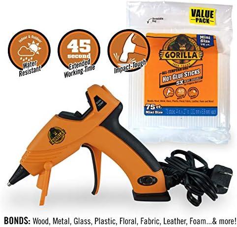 Gorilla 8401515 Hot Glue Sticks