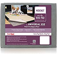 Con-Tact Rug Pad 6x9 Reversible Felt and Rubber Area Rug Pad for Hard Floors, Movenot
