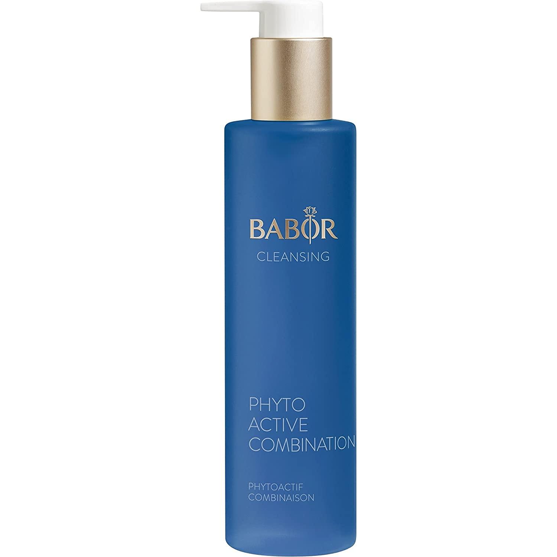 Babor Phytoactive Combination Daily Antioxidant Facial Cleanser, Non-Comedogenic Sage, 3.38 Fl Oz: Premium Beauty