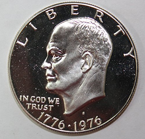 1976 S Silver Eisenhower Ike Dollar Gem $1 Proof Eisenhower Proof