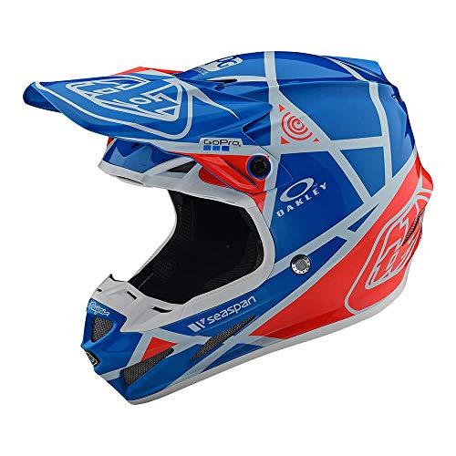 Troy Lee Designs Adult Composite SE4 Metric   Offroad   Motocross   Helmet (Medium, Ocean) ()
