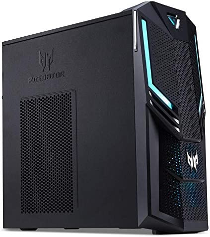 Acer Predator Orion 3000 Desktop, 9th Gen Intel Core i7-9700K, GeForce RTX 2080 8GB, 16GB DDR4, 256GB PCIe NVMe SSD, 1TB HDD, Win 10, PO3-600-UR20 513ZxtvurAL
