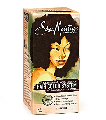 Hair Coloring System (Shea Moisture Soft Black Hair Color)