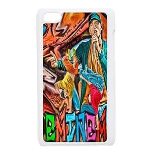DDOUGS Eminem New Fashion Cell Phone Case for Ipod Touch 4, Customized Eminem Case