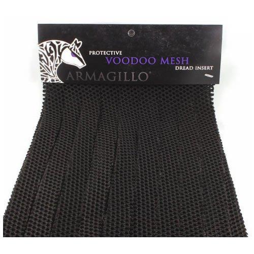 Armagillo Voodoo Mesh Dread Inserts - Black by Armagillo