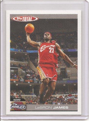 2004-05 Topps Total Basketball Card Checklist # 5 - LeBron James