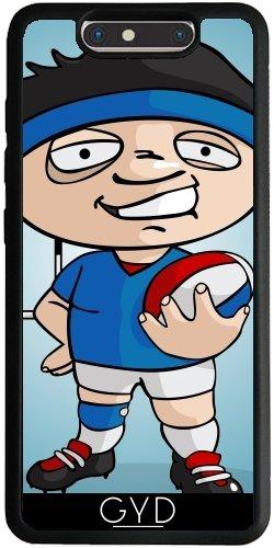 Funda Silicona para ZTE Blade V8 - Jugador De Rugby by GiordanoAita