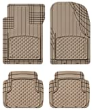 WeatherTech Trim-to-Fit AVM Front and Rear Universal Mats (Tan)